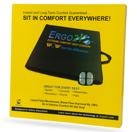 Ergo21 Sports Cushion Box