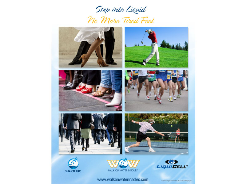 liquicell insoles and inserts flyer