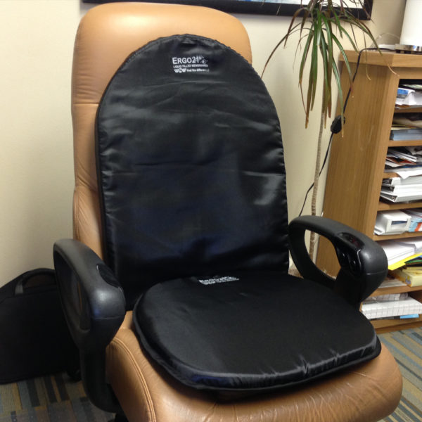 large lumbar office chair cushion