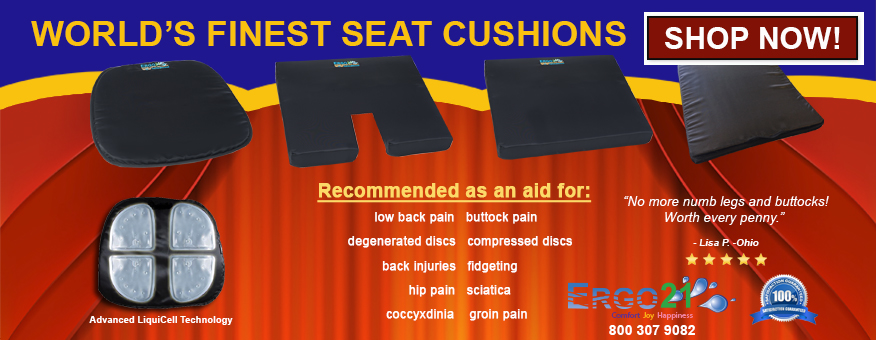 Seat Cushions - Ergo21