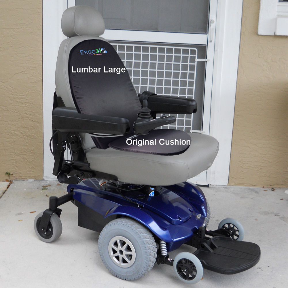 Lumbar Cushion - Original Cushion Mobility scooter